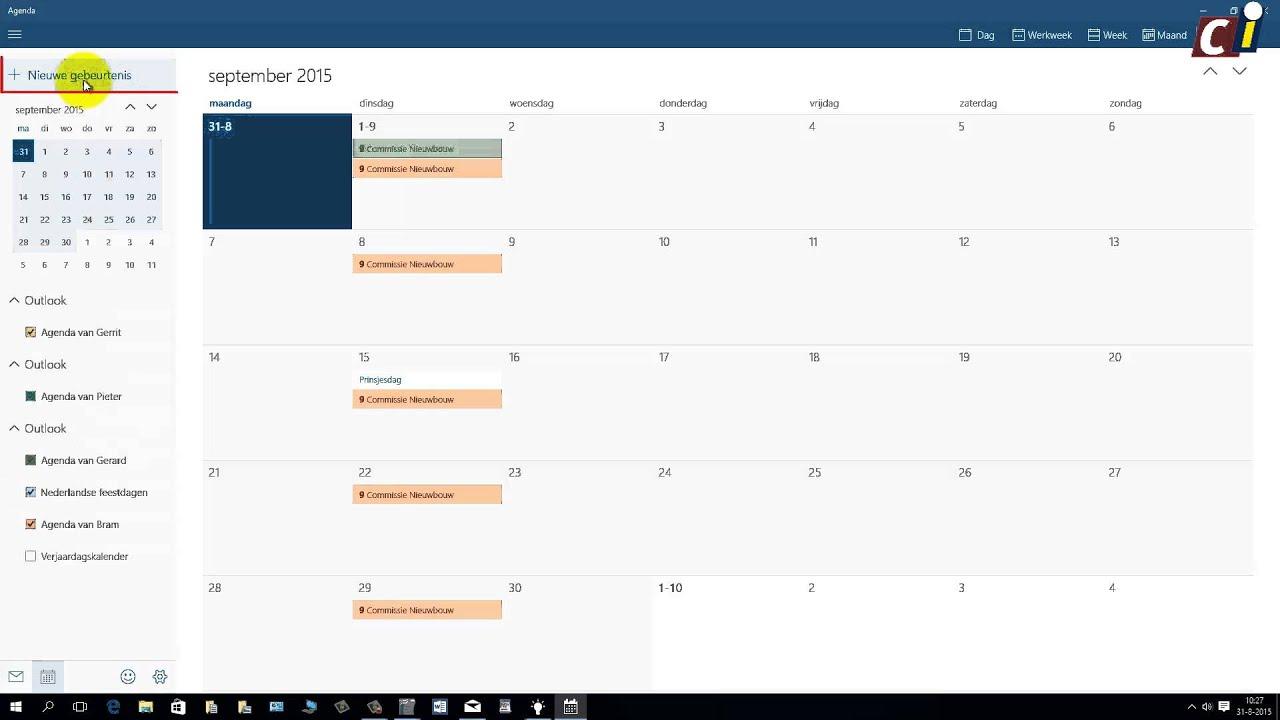 Icloud photos windows 10 - Windows 10 De Agenda 1