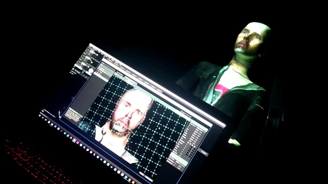Mad Mapper + Kinect 2 for windows + Resolume Arena +  obj + UvMap =  Frankenstein of Ligth!!!