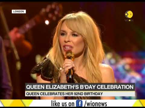 Queen Elizabeth celebrates 92 years with star-studded concert