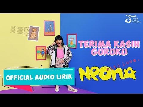 Neona - Terima Kasih Guruku #AlbumWithLove   Official Audio Lirik
