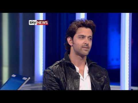 Hrithik's interview on sky news London