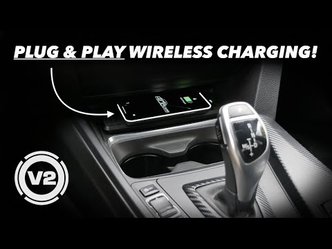 BMW WIRELESS CHARGING // NEW PLUG & PLAY KIT!