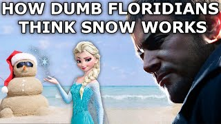 Ethan Winters is from Florida and has never seen snow before...this is how he thinks it's made 🤣