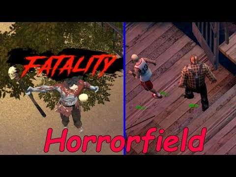 Кто поймал всех выживших, играем за Манов! Horrorfield  Horror Game