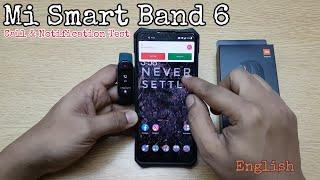Mi Smart Band 6 - Notification Test screenshot 5