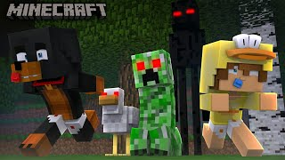 Minecraft - WHEN MOBS GO BAD. BURN THE .EXE MOBS Modded Gameplay