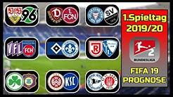 FIFA 19: 1.Spieltag - Saison 2019/20 l 2.Bundesliga - Prognose l Deutsch [HD]