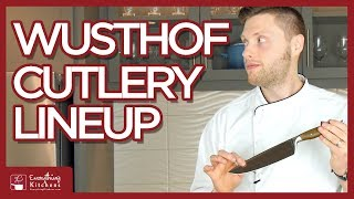 Wusthof Knife Overview - Epicure, Classic, Gourmet, IKON, Pro, Grand Prix - Types of Wusthof Knives