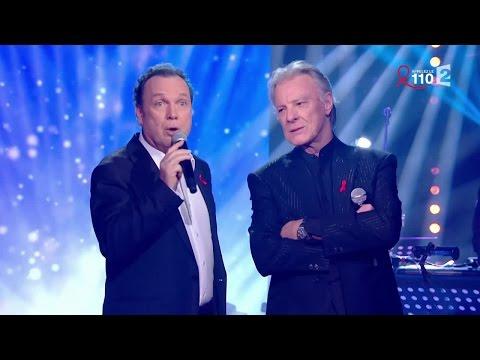 Julien Lepers et Hébert Léonard chantent
