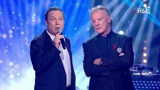 """Julien Lepers et Hébert Léonard chantent """"Pour le Plaisir"""""""