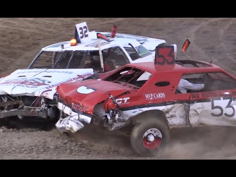 Demolition Derby - Antelope Valley Fair 2016