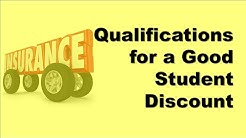 Qualifications for a Good Student Discount | Get Student Auto Insurance at the Best Price