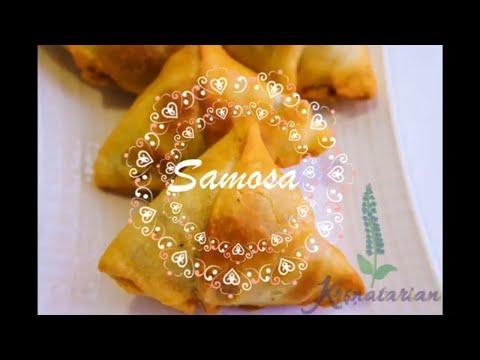 How to Make Traditional North Indian Samosa |समोसा | हिंदि रेसिपि | Vegan recipes| English Subs