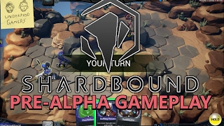 Shardbound Early Impressions Gameplay! - PC Turn-Based Tactics Card Game!