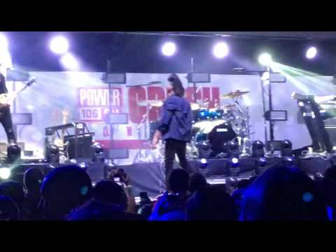 The Weeknd (live) at Power 106 Crush Concert 2016
