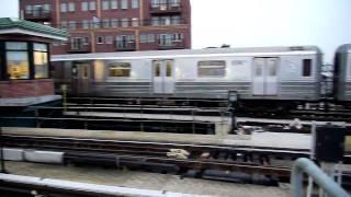 R68 and R160's at Coney Island Stillwell Avenue