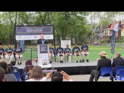 Franklin D. Roosevelt 2017 Soccer Field Dedication