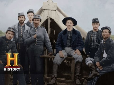 Blood And Glory The Civil War In Color A Call To Arms History Youtube