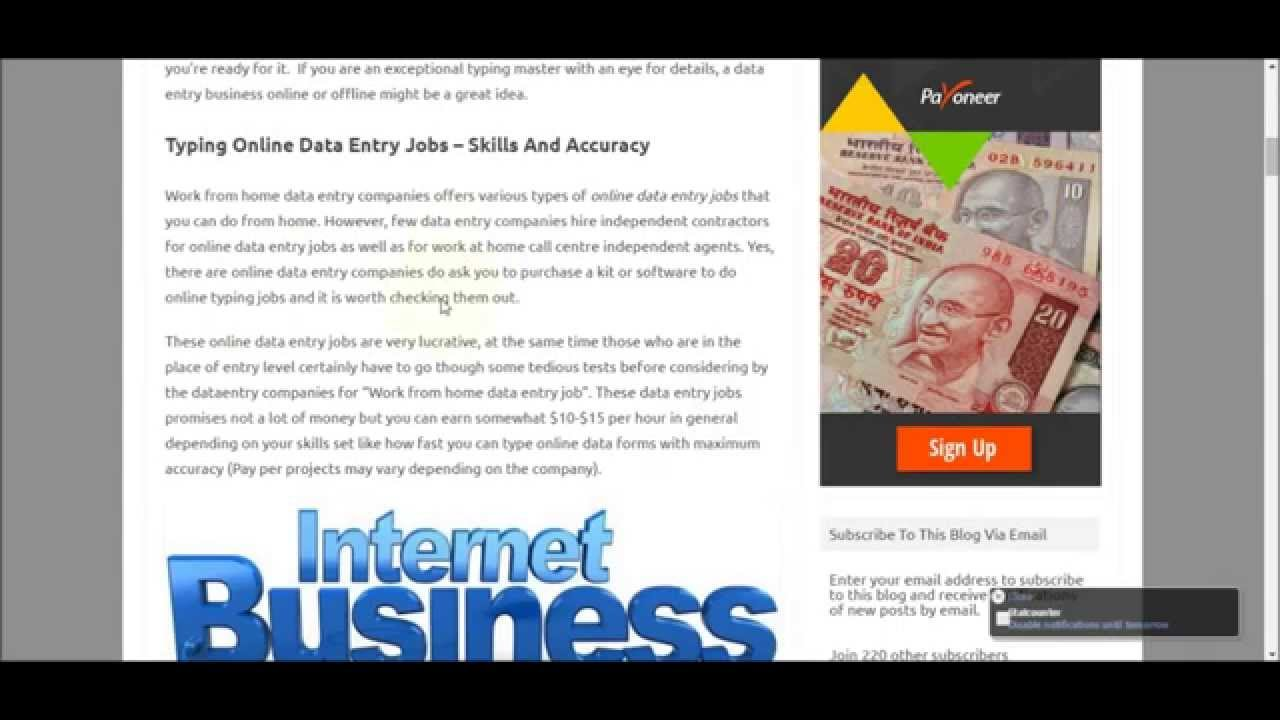 Online/Offline data entry companies Hiring- Full Time Jobs - Get It ...