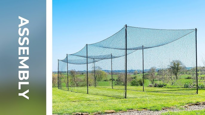 How To Assemble The Ultimate Cricket Net Net World Sports Youtube