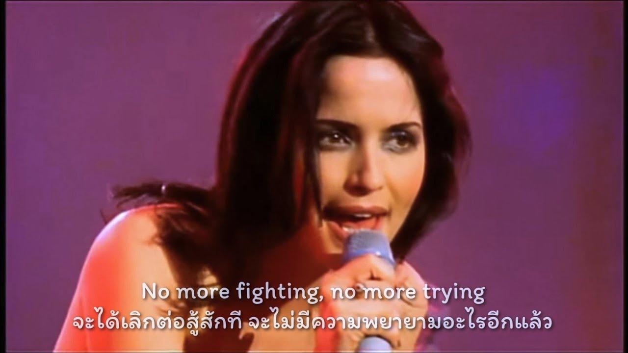 หนึ่งในคอนเสิร์ตที่ชื่นชอบ What Can I Do by THE CORRS 1999 แปลไทย+ซับ lyrics
