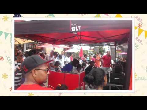 Radio One 12th anniversary celebration at Bagatelle Mall of Mauritius