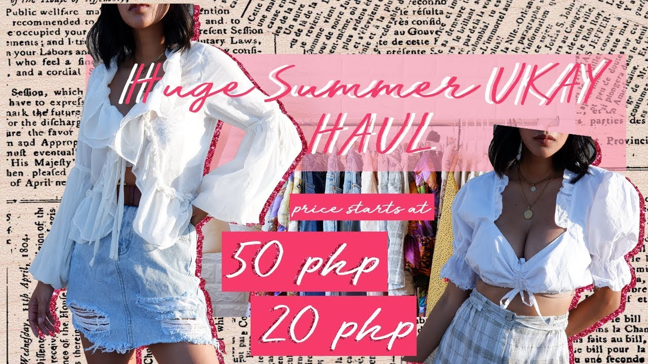 Huge Summer Thrift/ Ukay Ukay haul (Philippines) 3
