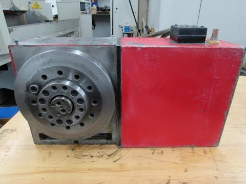 Haas HRT-A6 Programmable Rotary Table - Brush Drive Motor