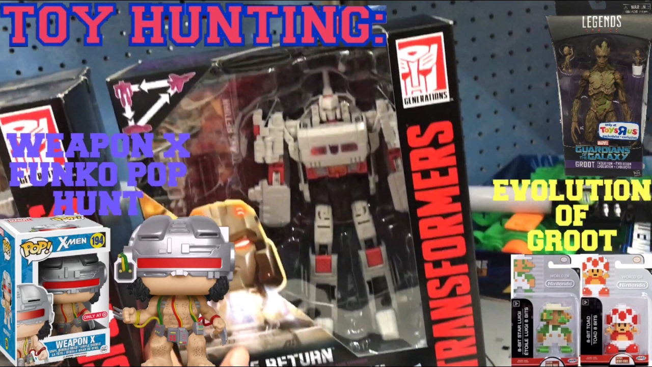 Toy Hunting For New X MEN WAVE Marvel Legends WEAPON X Funko Pop And New TITANS RETURN