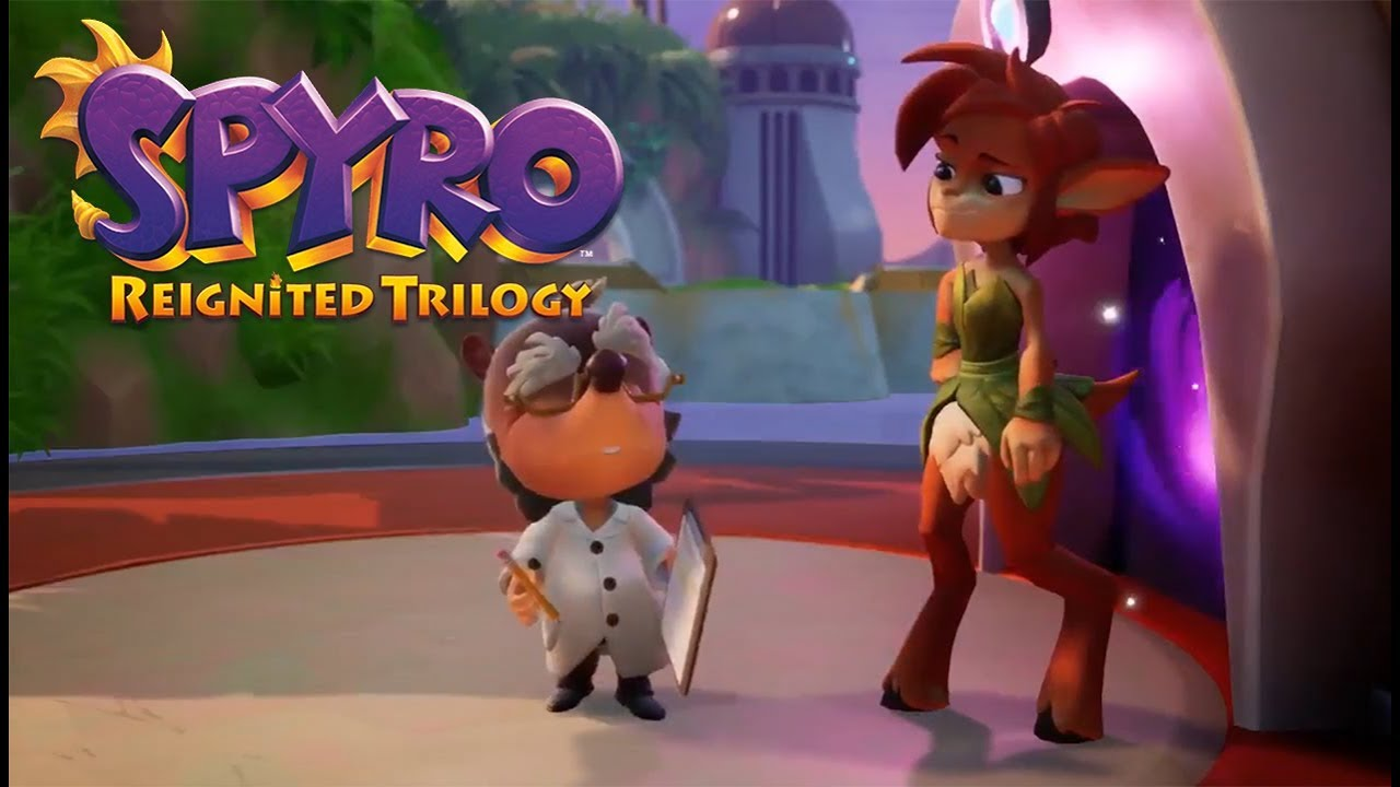 Spyro Reignited Trilogy Cutscene A Familiar Face Youtube