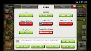 Change coc gmail ।। How to remove clash of clans old gmail account and add a new one ।। Full process