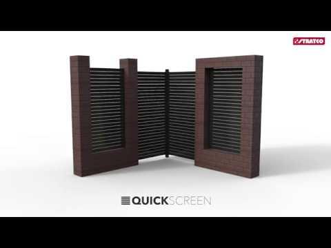 QuickScreen Pedestrian Gate Install | Stratco Fencing Sanctuary
