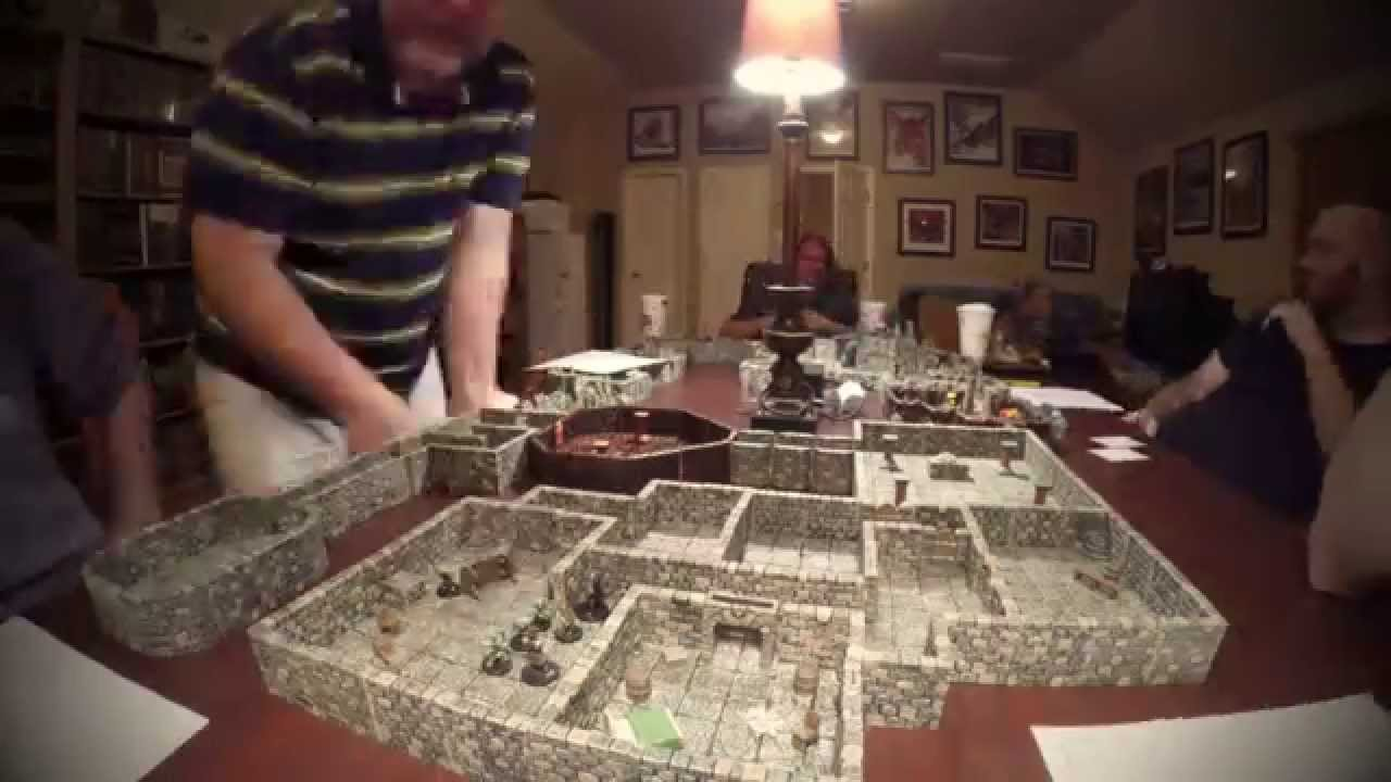 Friday Night Game Night D Amp D Using Dwarven Forge Terrain