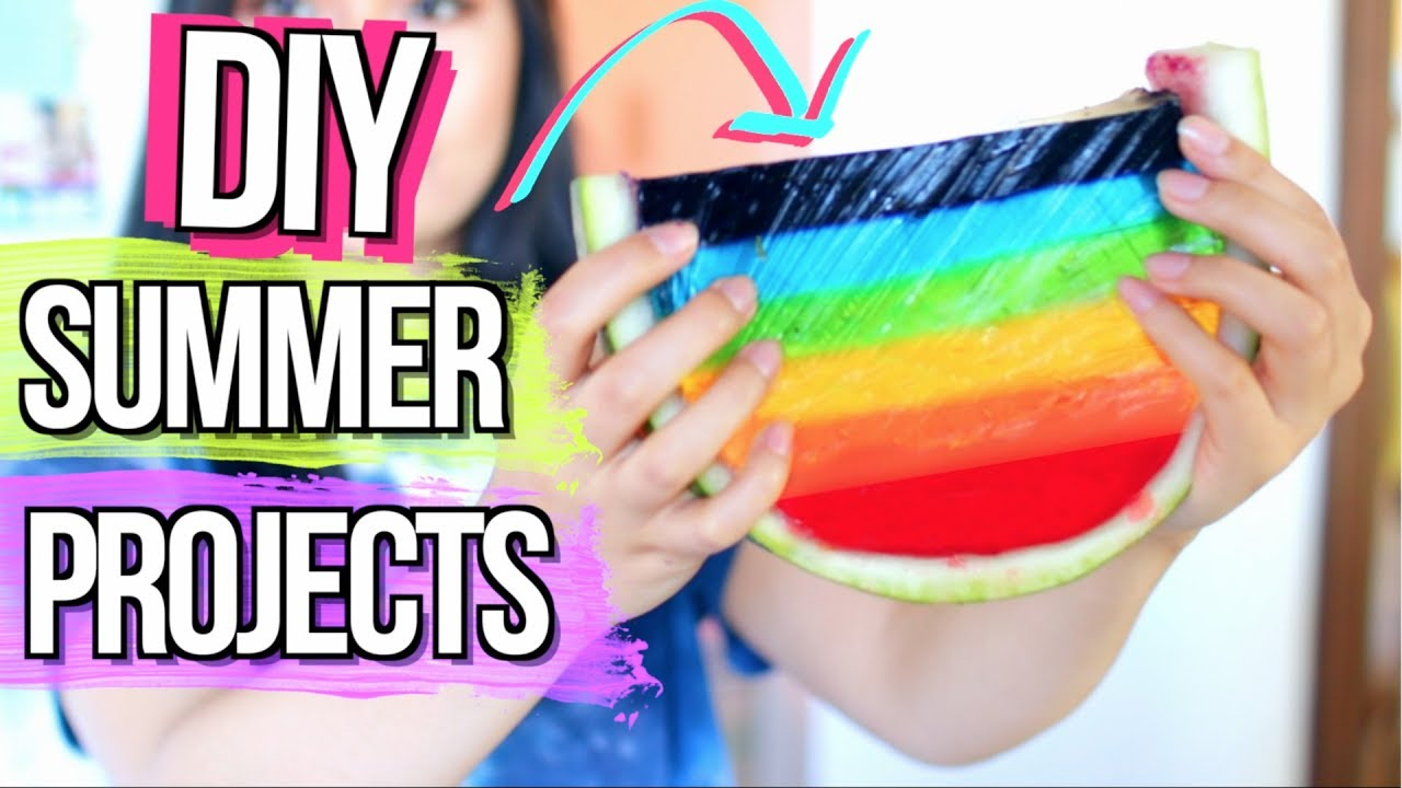 Fun Summer DIYs And Projects When Youre BORED
