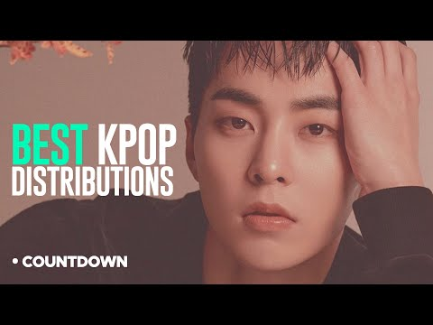 [TOP 9] Kpop BEST Line Distributions - Part 2 [Countdown Sunday]