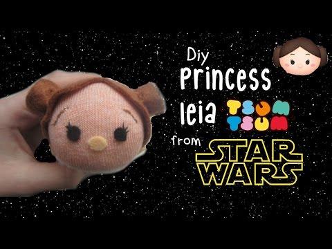 DIY Princess Leia tsum tsum   Tiny Sparkles