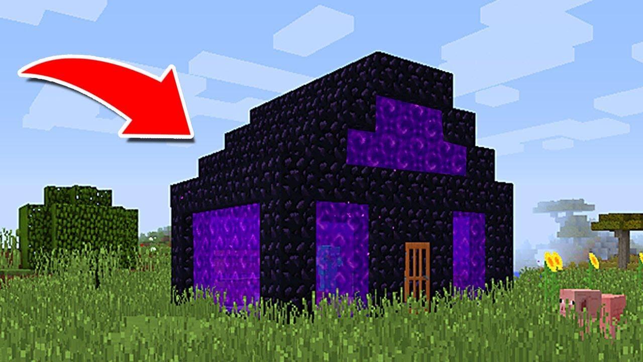 Como vivir en una casa de portales en minecraft for Como reformar una casa de pueblo