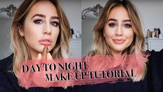 DAY TO NIGHT MAKEUP TUTORIAL | SOPHIE MILNER fashion slave