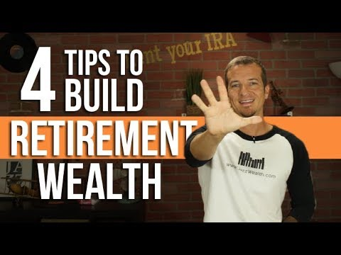 4 ways to build wealth for retirement.
