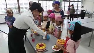 親子で「野菜ケーキづくり」JA食農フォーラム八重山初開催