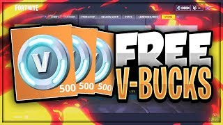 Comment gagner des V-Bucks GRATUIT Facilement 100% Legit - Giveaway! (Fortnite Battle Royal)