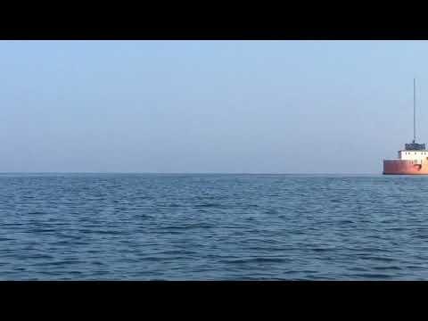 Intex Explorer K2 kayak trip to the Cleveland Water Crib - AWA