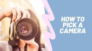 How to Pick A Camera for Your YouTube and Instagram Videos | Erica Jay