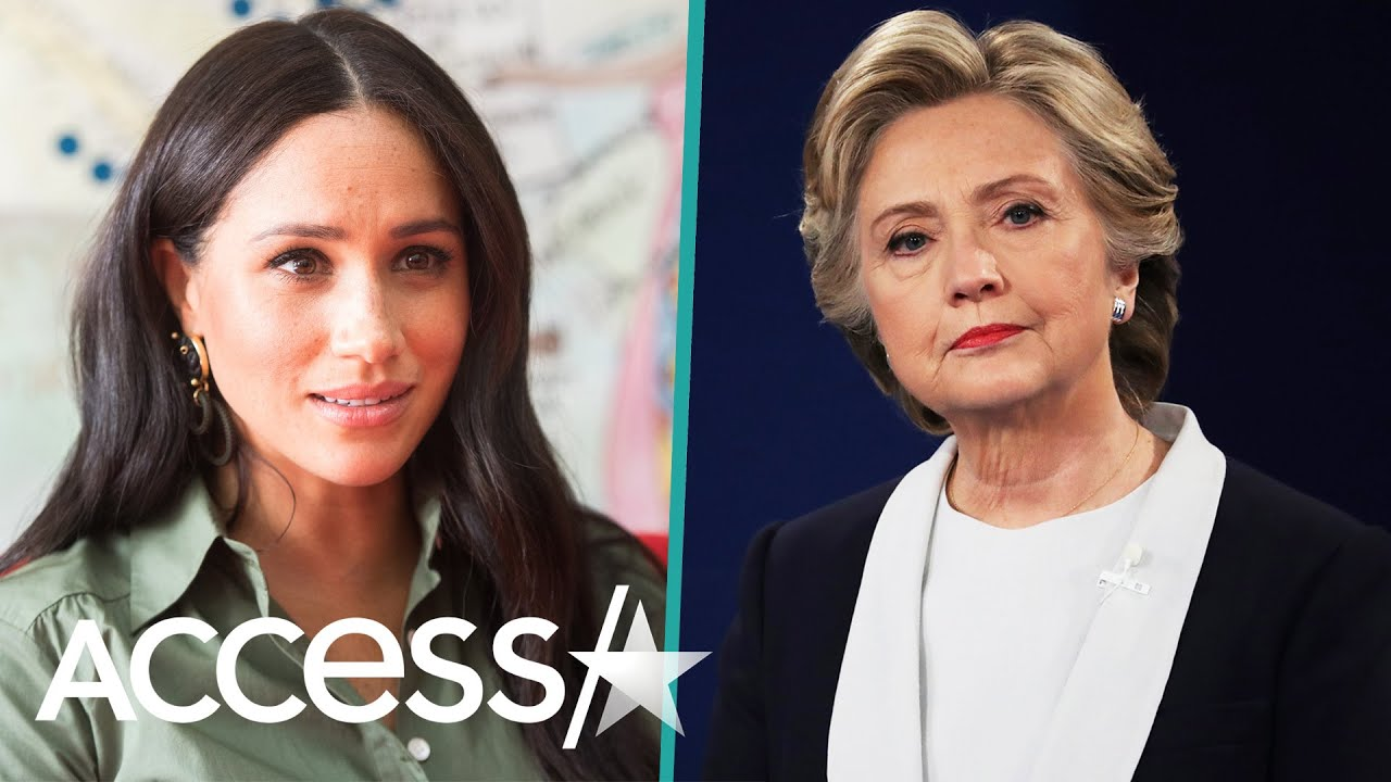 Hillary Clinton Wants To Hug Meghan Markle Amid 'Heartbreaking' Tabloid Coverage
