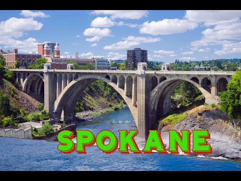 A Beautiful Walk Around Spokane, Washington