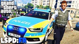 GTA 5 LSPD:FR - GEFÄHRLICHER Einsatz! + Realistischer - Deutsch - Polizei Mod #44 Grand Theft Auto V