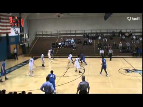 Conwell Egan Catholic High School vs  North Penn   James Thompson highlights