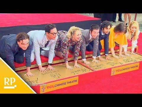 "Nach Letzter Folge ""The Big Bang Theory"" - Schauspieler Verewigen Sich In Hollywood"