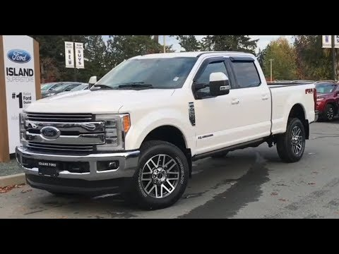 2019 Ford F-350 Lariat FX4 Ultimate V8 Diesel SuperCrew Review| Island Ford