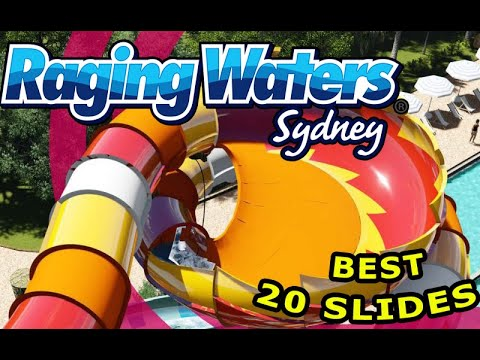 Raging Waters Sydney |  Raging Waters Sydney Rides and New Slides | Water Parks in Australia